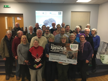 Ipswich local group love hedgehogs