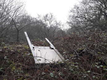 Vandalism at Church Farm nature reserve – Jamie Smith