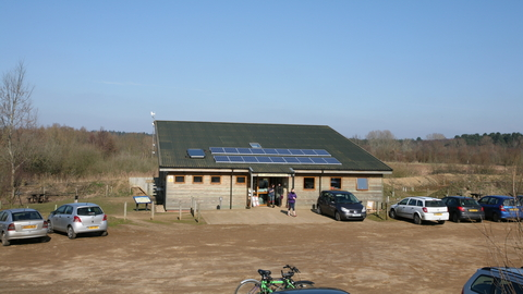 Lackford Lakes visitor centre Suffolk Wildlife Trust