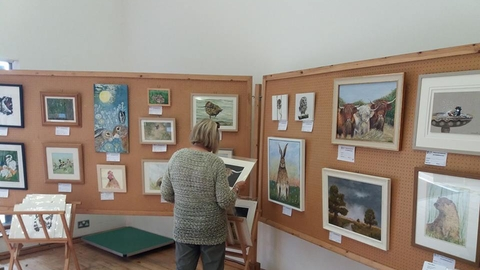 Art exhibition at the Fen