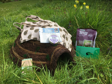 Hedgehog hamper