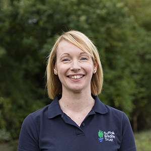 Membership Manager Nic Martin Suffolk Wildlife Trust