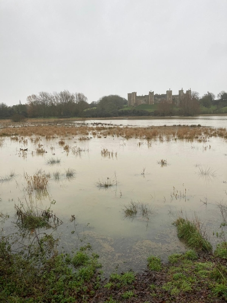 High water at Framlingham Mere